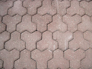 Wanted interlocking brick, stone pavers