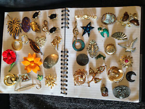 Vintage and Antique Brooches