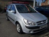 HYUNDAI GETZ CDX 2007 Petrol Manual in Silver