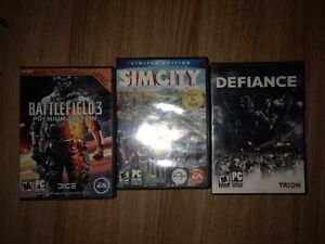3 PC games all for 20$ or 10$ each.
