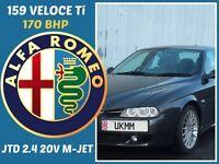 ALFA ROMEO 156 2.5 DIESEL 170 BHP+CITROEN,NISSAN,RENAULT,SKODA,S40,HYUNDAI,SUZUKI,VAUXHALL,FORD,Z3