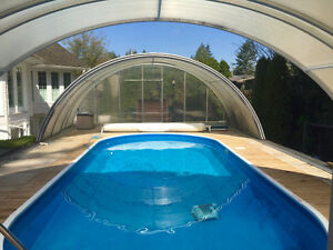 SWIMMING POOL PKG & TELESCOPING SUNROOM