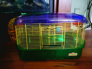 Hamster Cage, Toys, and Accessories