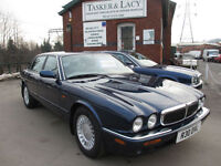 Jaguar XJ8 3.2 Auto X308 Stunning Sapphire Blue With Oatmeal Show Condition