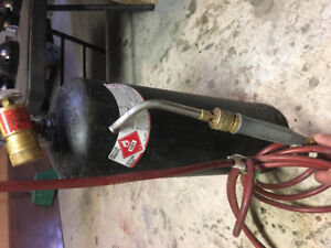 Acetylene torch (still half full) haven't used in a long time