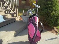 Women's Right Hand 12-pc. Golf Set (Fairway Vision) & Bag