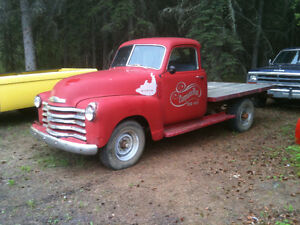 1949 3/4 ton Pickup with 5 window cab