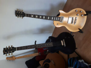 Gibson les paul tribut t 2017 gold top trade for  US telecaster.