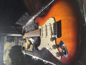 American Strat Lefty Guitar