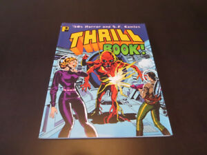Thrill Book! '50s Horror and S.F. Comics - paperback book