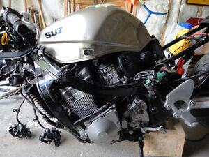 Parting out 2001 Suzuki GSX Katana 750 being sold in parts only