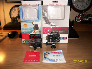 Two new 1080p waterproof Sport cameras with 32g memory cards