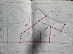 Land and house for sale (zoned R3)