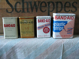 Looking to buy vintage Band Aid tins