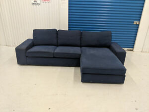 IKEA  Kivik  Reversible  Sectional Sofa w Chaise FREE DELIVERY