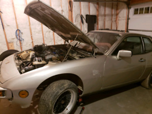 1980 Porsche 924 Turbo Project