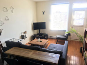 Beautiful 3 1/2 in Plateau for Sublet / Sous-louer Parc Laurier