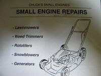 CHUCK'S LAWNMOWER AND SMALL ENGINE REPAIR