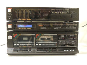 Fisher CA26,FM26, CR-W26 AM/FM Stereo System w/phono in