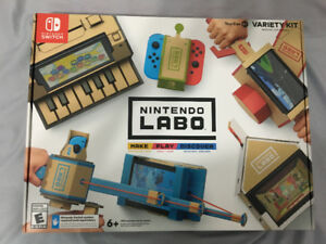 Nintendo Labo Variety Kit for Nintendo Switch - New In Box