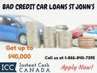 Bad Credit Car Loans St John's by Instant Cash Canada