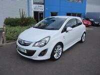 Vauxhall/Opel Corsa 1.4i 16v ( 100ps ) ( a/c ) 2014MY SRi White Very Clean Car