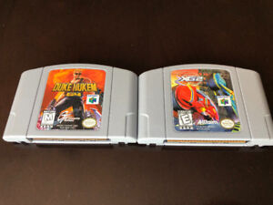 TWO N64 GAMES: XG2 EXTREME G AND DUKE NUKEM 64