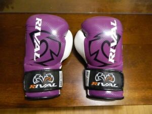 Rival RB7 fitness/bag gloves.