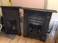 Matching Victorian fireplaces