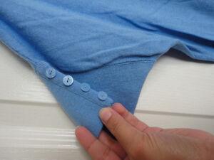 Women's Reitmans light blue cable knit sweater Size Medium NWT London Ontario image 3