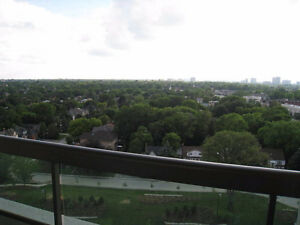 2 Bed 1 bath Condo for Rent Yonge and Finch WEEKLY inc PARKING