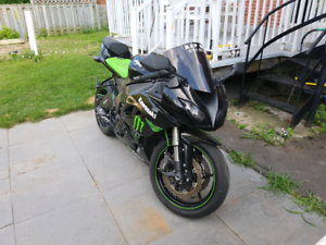 2009 zx6r ninja Monster Edition