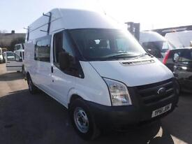 FORD TRANSIT 350 H-R LWB MESSING UNIT AND WORKSHOP, White, Manual, Diesel, 2011