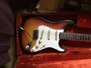 Original December 1965 Fender Stratocaster, orig case, Trade