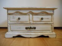 Off White Refinished Jewelry Box in Yorkton