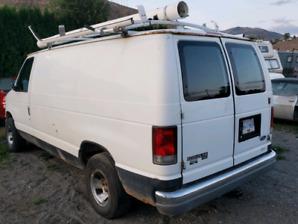 1996 Ford E150 cargo/ Work Van