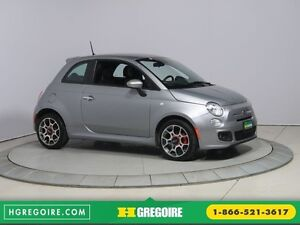 2015 Fiat 500 Sport AUTO A/C GR ELECT MAGS