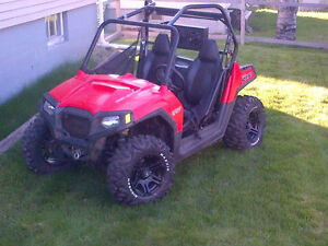 Rzr 800 with plow