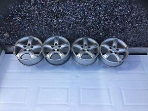 """Set of (4) Genuine Hyundai Santa Fe 16"""" Alloy Rims"""