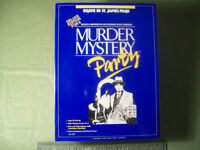 Murder Mystery Party -Deluxe Edition for 6 -  18 years +