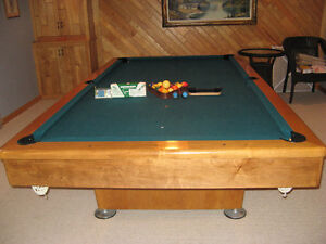 TABLE DE BILLARD 4X8
