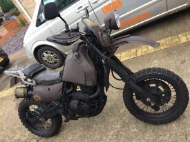 Suzuki DR 650 rat bike, survival, fighter, one off