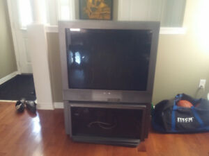 "SONY 36"" TV WITH STAND ***FREE****"