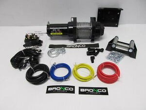 ENSEMBLE KIT WINCH TREUIL BRONCO 2500 LBS 199.95$ !!! PROMOTION