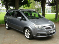 Vauxhall Zafira 1.9CDTi SRi**7 SEATER**LOW MILEAGE - 77K**CLUTCH & DMF DONE**
