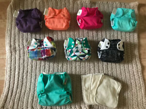 8 Brand New Never Been Used Cloth Diapers (valued at $300)