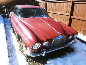 1969 Jaguar 420 g ,Extremely rare,especially with manual transmi
