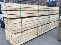 🌲 Wooden 225mm X 38mm X 3.6m/4.2m Scaffold Style Boards ~New~