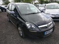 """Vauxhall Zafira 2010(59) 7 Seats MPV 1.6 i 16v Life 5dr Petrol """"PCO READY CAR"""""""