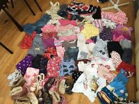 Girls clothes bundle 2-3 years over 80 items
